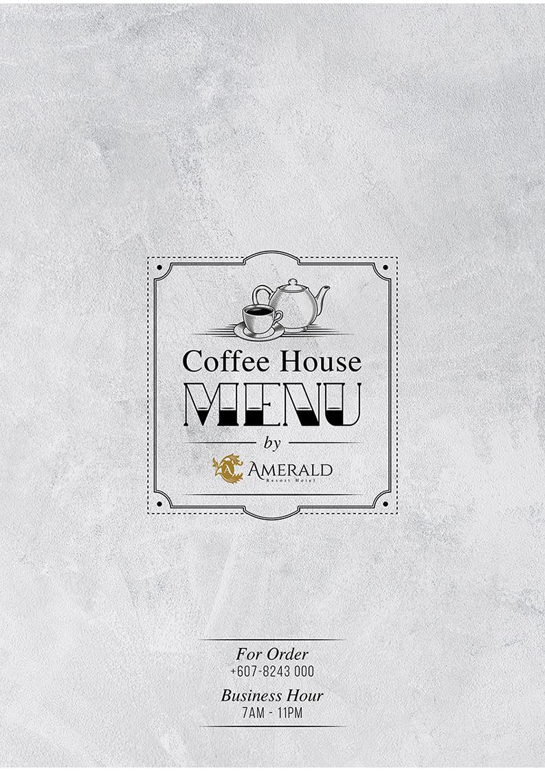 Amerald Ruby Coffee House Ala Carte Menu