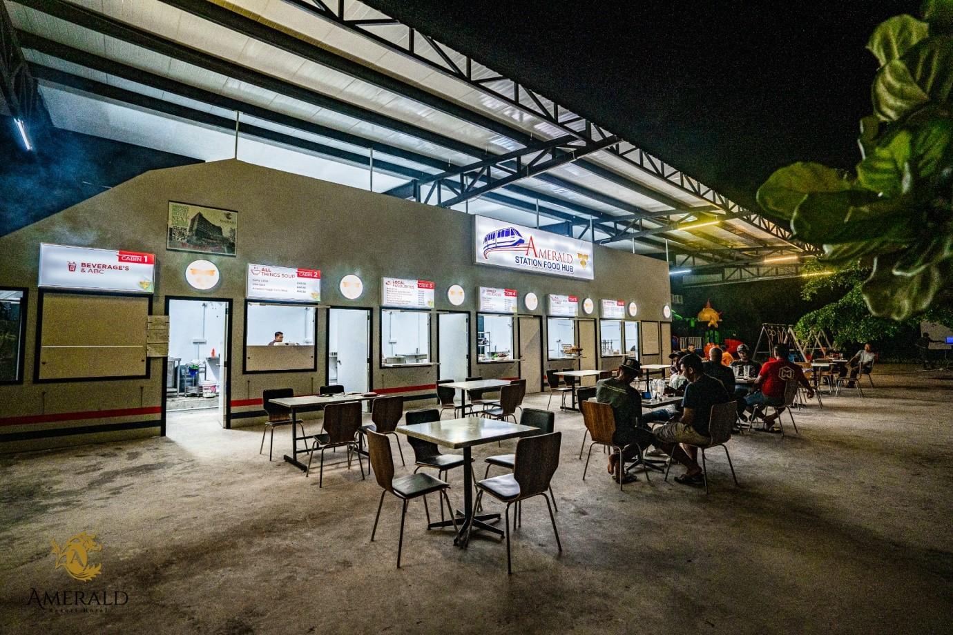 Desaru Amerald Station Food Hub Resort Hotel Johor Malaysia