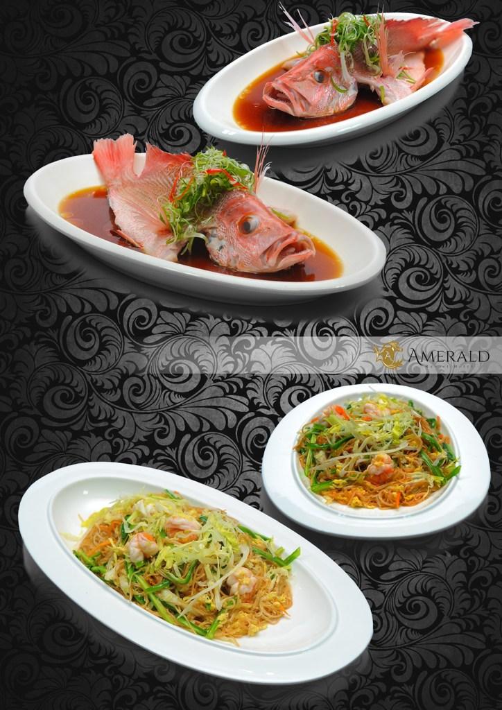 Dining local food dish Amerald Resort & Hotel Johor Malaysia 1